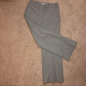 LOFT Pants - LOFT Ann Fit Grey Trouser Pant Size 8